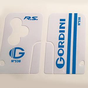 Gordini Blanc / Bleu