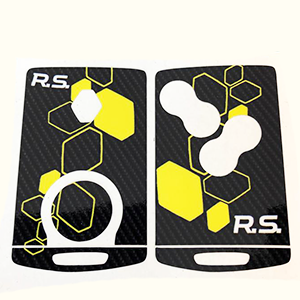 RS16 carbone-jaune 4bts