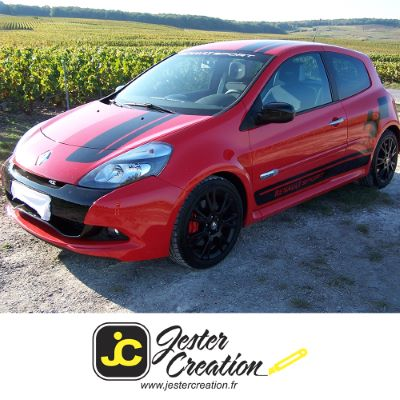 Clio 3 RS Bandes
