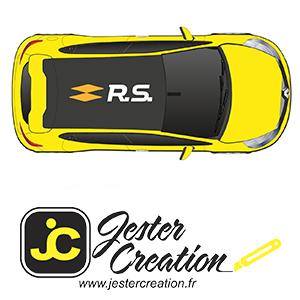 Texte du Toit Clio 4 RS18