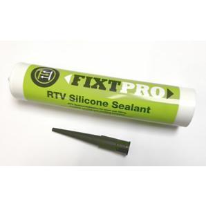 FIXT Pro - RTV Silicone Sealant - Black