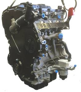 LR055432 2.4 Ford Tdci Stripped Engine - NEW
