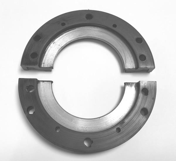 523240 Crank Rear Oil Seal Retainers - pair