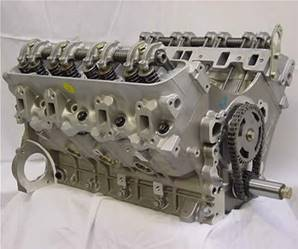 3.9V8 Stripped Engine - reman - Performance Cam/Heads