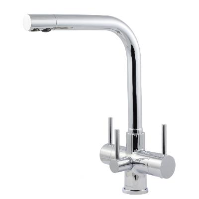 Sorrento 3 Lever, 3 Way Kitchen Tap