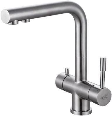 Zara 3-Way Kitchen Filter Tap Stainless Steel