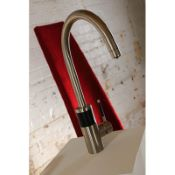 Abode Aquifier Triana 3-Way Kitchen Filter Tap Brushed Nickel