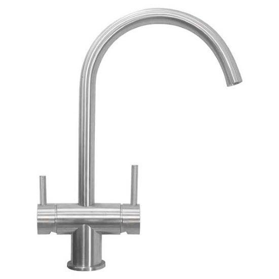 Aqualaria 3-Way Kitchen Filter Tap Stainless Steel