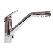 Cosmo 3-Way Kitchen Filter Tap Chrome