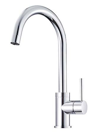 Nor 3-Way Single Lever Kitchen Filter Tap Chrome