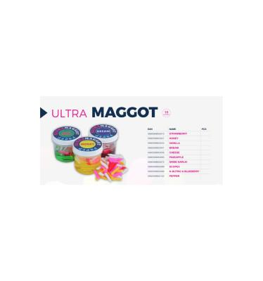 Ultra Maggot PINEAPPLE Ultra Fishing