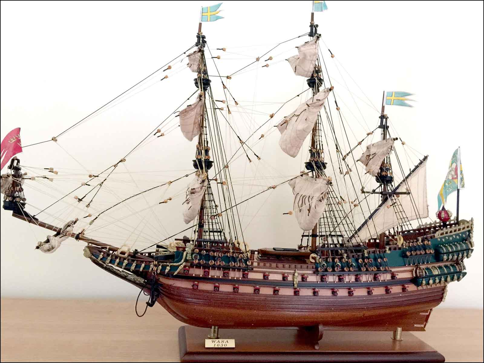 Vasa Ship Model (1627 Sweden)|Medium Size