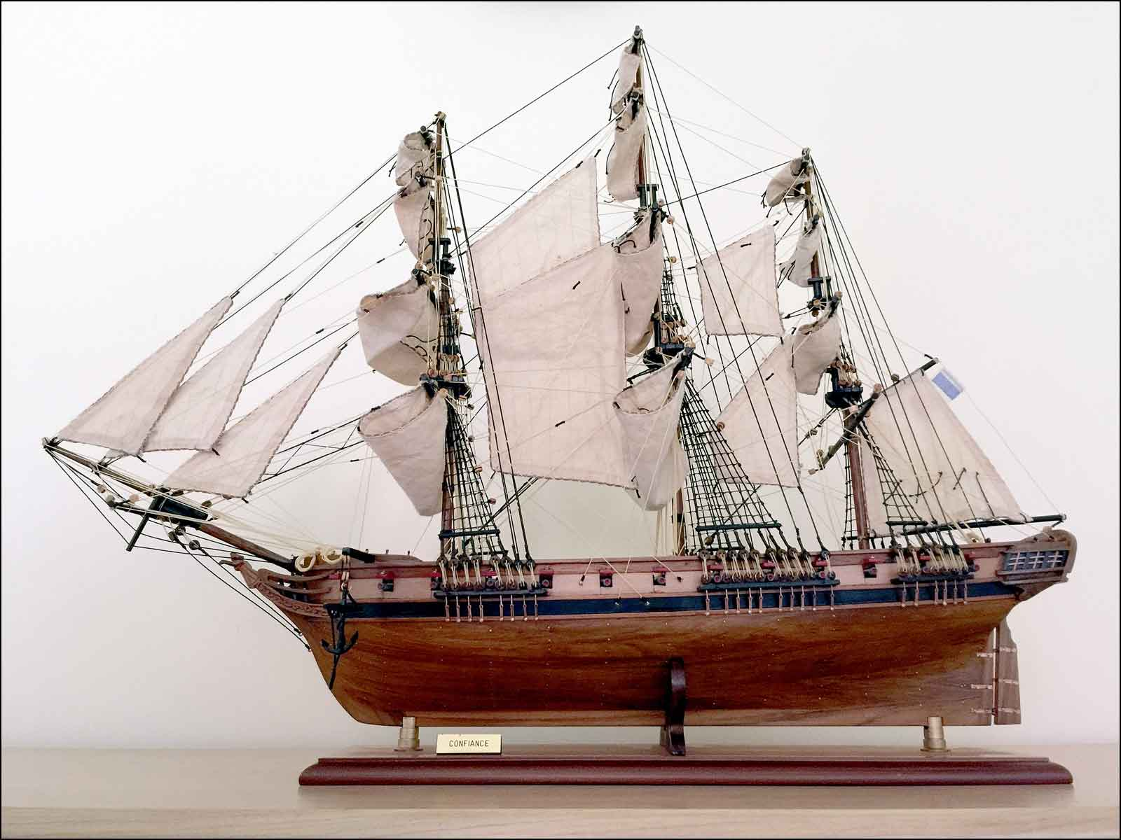 La Confiance Ship Model (1799 France)|Medium Size