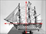 HMS Victory model boat