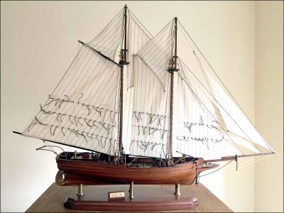 Flying Fish Schooner Model (1860 USA)