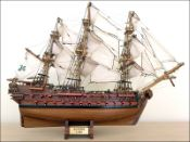 Le Superbe Ship Model (1784 France)|Small Size