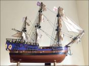 Cook's Endeavour Ship Model (1768 GB)|Small Size