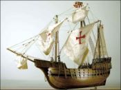 Santa Maria Ship Model (1402 Spain)|Medium Size