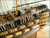 HMS Agamemnon Ship Model (1781 GB)|Large Size
