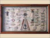 Nautical Knot Board Extra Large Size