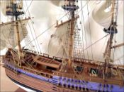 Cook's Endeavour Ship Model (1768 GB)|Large Size