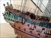 Friesland Ship Model (1663 Netherlands)|Large Size