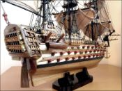 HMS Victory Ship Model|Improved Small Size
