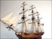 Belle Poule Ship Model (1834 France)|Large Size