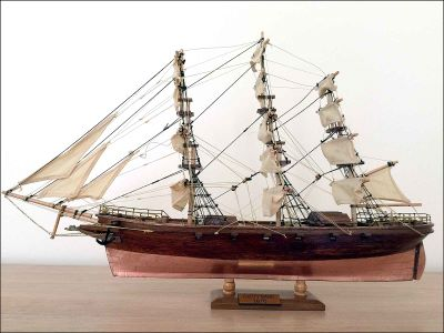 Cutty Sark Ship Model (1869 GB)|Mini Size