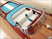 Super Riva Lamborghini Model Boat|Large