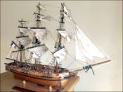 Astrolabe Ship Model (1811 France)|Small Size