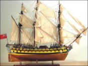 HMS Bellona Ship Model (1760 GB)