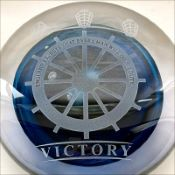 Victory Glass Paperweight