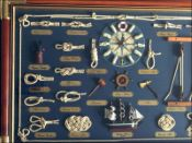 Nautical Knot Board with Clock|Large Size