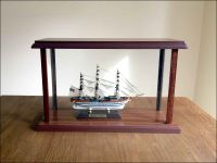 Amerigo Vespucci Ship Model in Display Case|Miniature Size