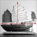 Chinese model boat