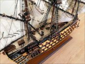 HMS Victory Ship Model (1785 GB)|Medium Size|Painted 60 cm