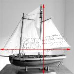 wooden boat model Swift Pilot