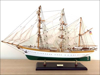 Gorch Fock Ship Model (1958 Germany)