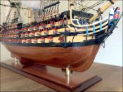 HMS Victory Ship Model (1785 GB)|Medium Size|Painted 77 cm