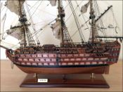 HMS Victory Ship Model (1785 GB)|Medium Size|Varnished|Special Edition