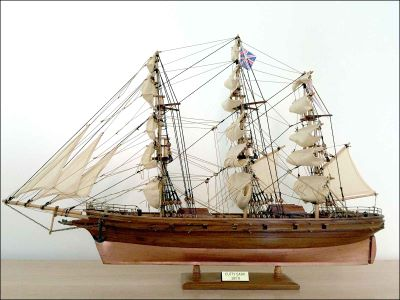 Cutty Sark Ship Model (1869 GB)|Small Size