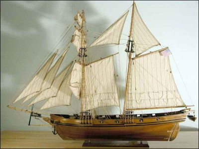 Harvey Baltimore Clipper Model (1847 USA)