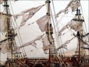 Le Superbe Ship Model (1784 France)|Medium Size