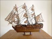 HMS Victory Ship Model|Small Size