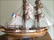 Brick Negrier Ship Model (1830 France)|Medium Size