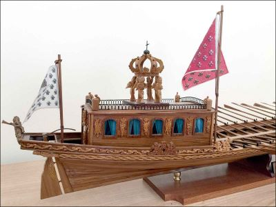 Le Canot Imperiale Ship Model (France)