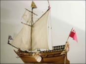Royal Yacht Mary (1660 GB) Ship Model
