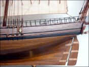Le Coureur Ship Model (1772 France)