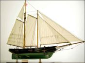 America Yacht Model Boat (1851 USA)